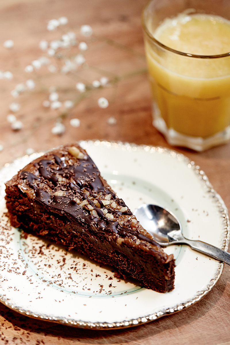 Tarta-Brownie